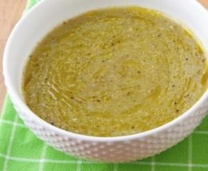 crema di zucchine bimby